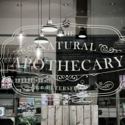 The Natural Apothecary window